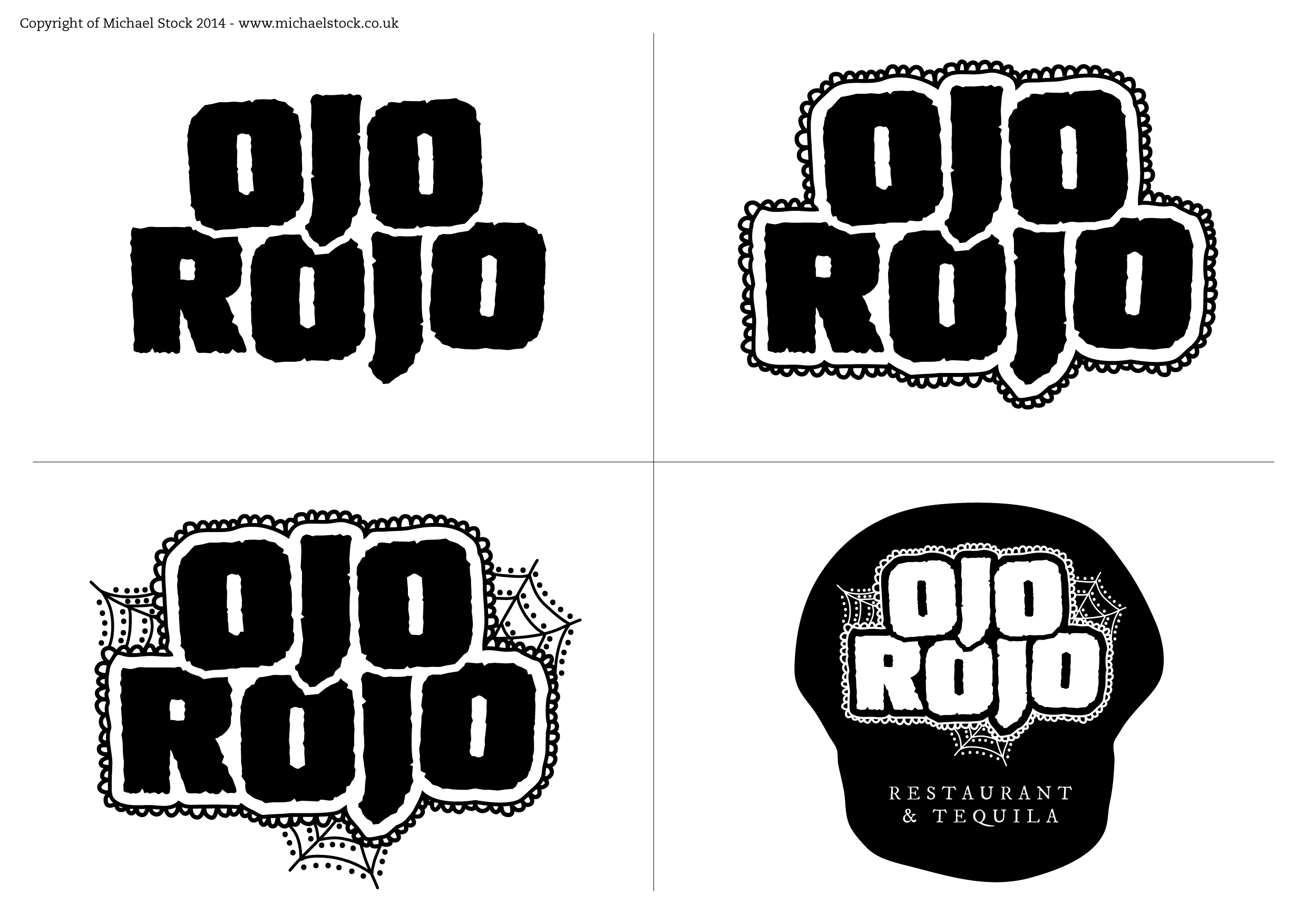 Ojo Rojo – Logo Ideas
