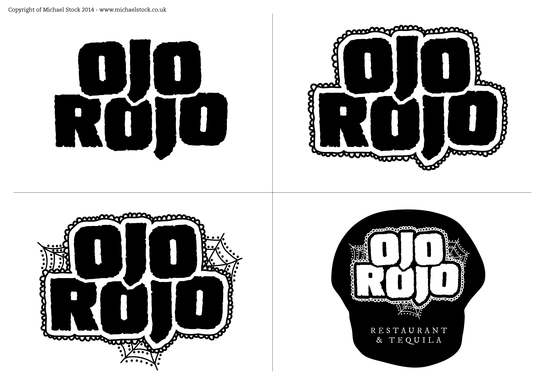 Ojo Rojo – Logo Ideas