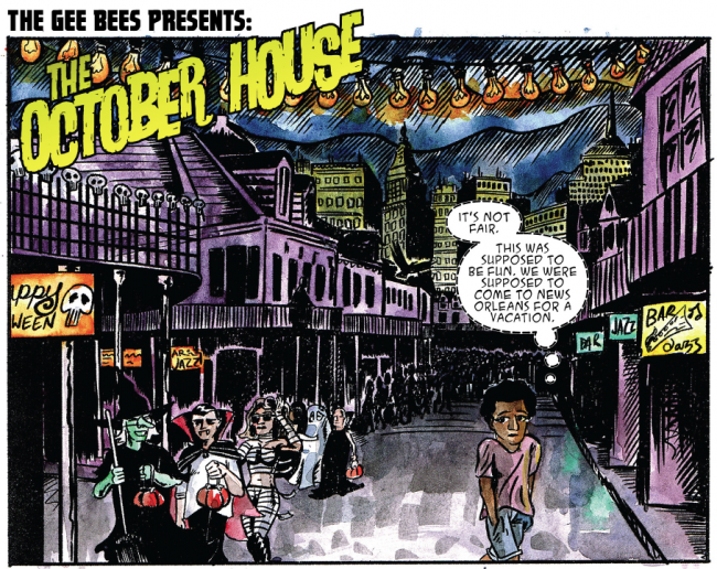The Gee Bees - The October House 1