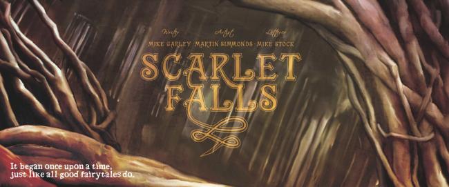 Logo & Credits - Scarlet Falls