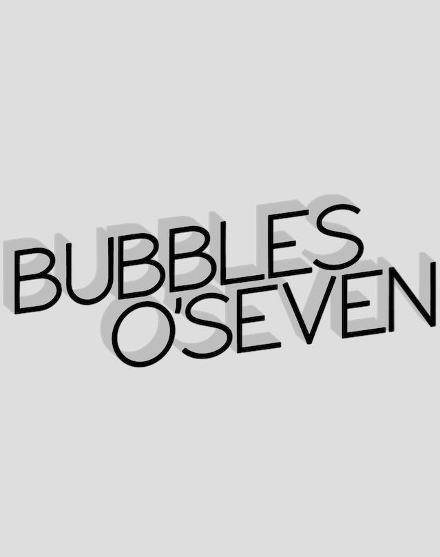 Bubbles O'Seven Logo