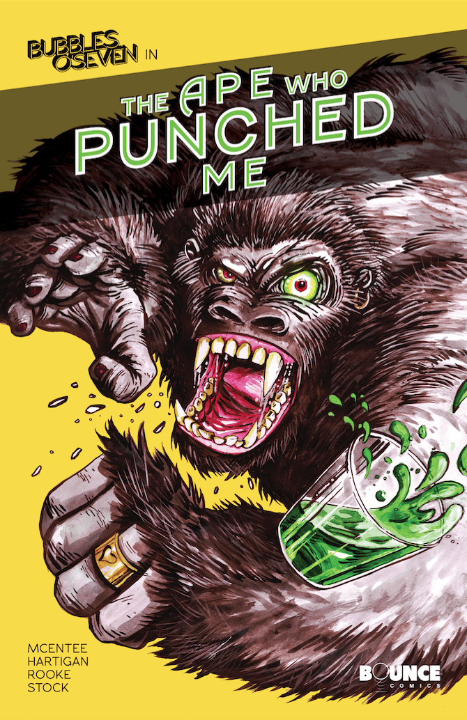Bubbles O'Seven: The Ape Who Punched Me