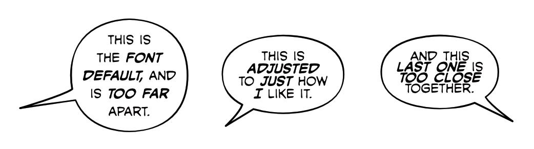 3 Ways to Spot Amateur Comic Book Lettering - Leading
