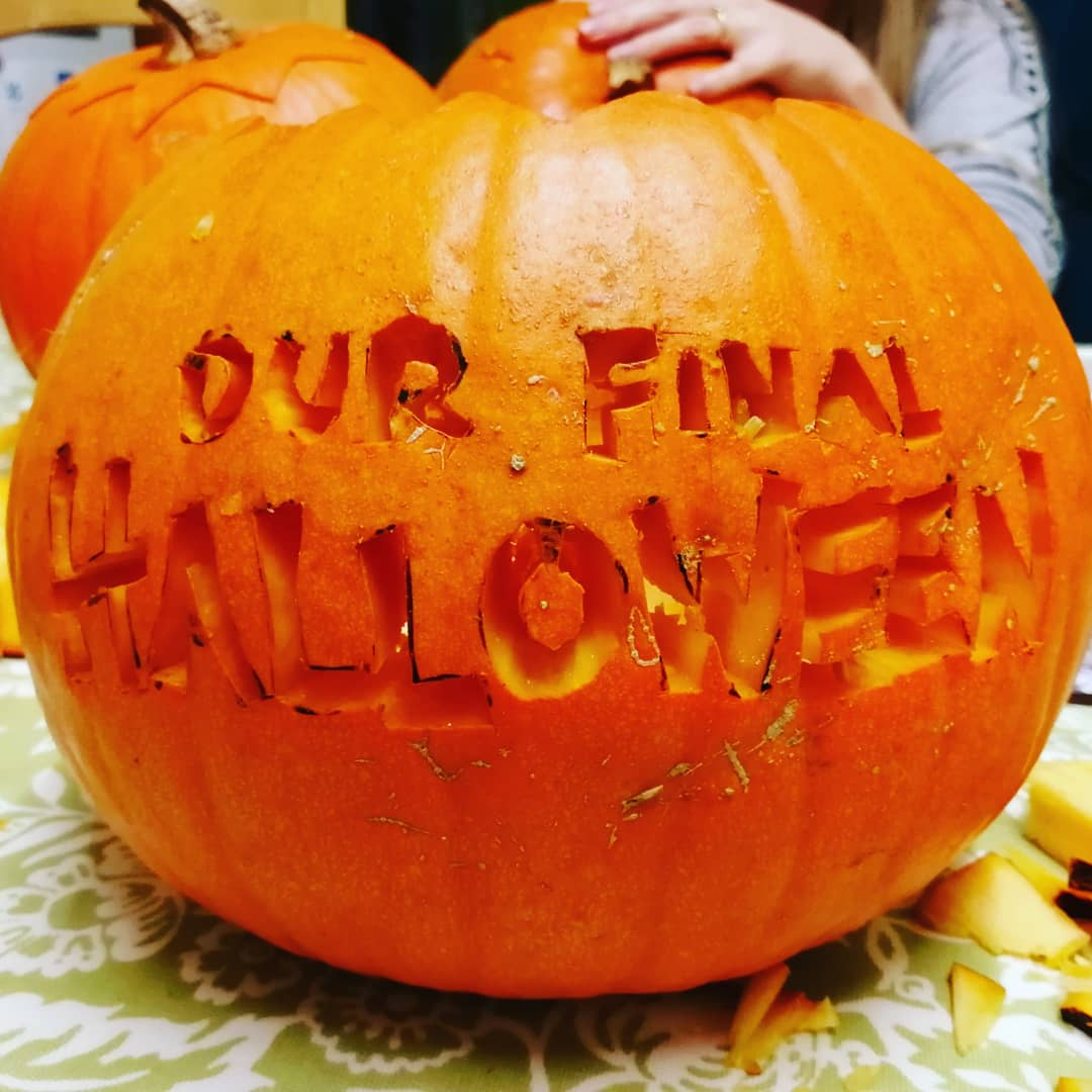 Our Final Halloween - Pumpkin Carving